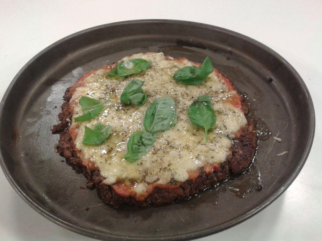 Una pizza vegetariana en toda regla, y con un aspecto delicioso