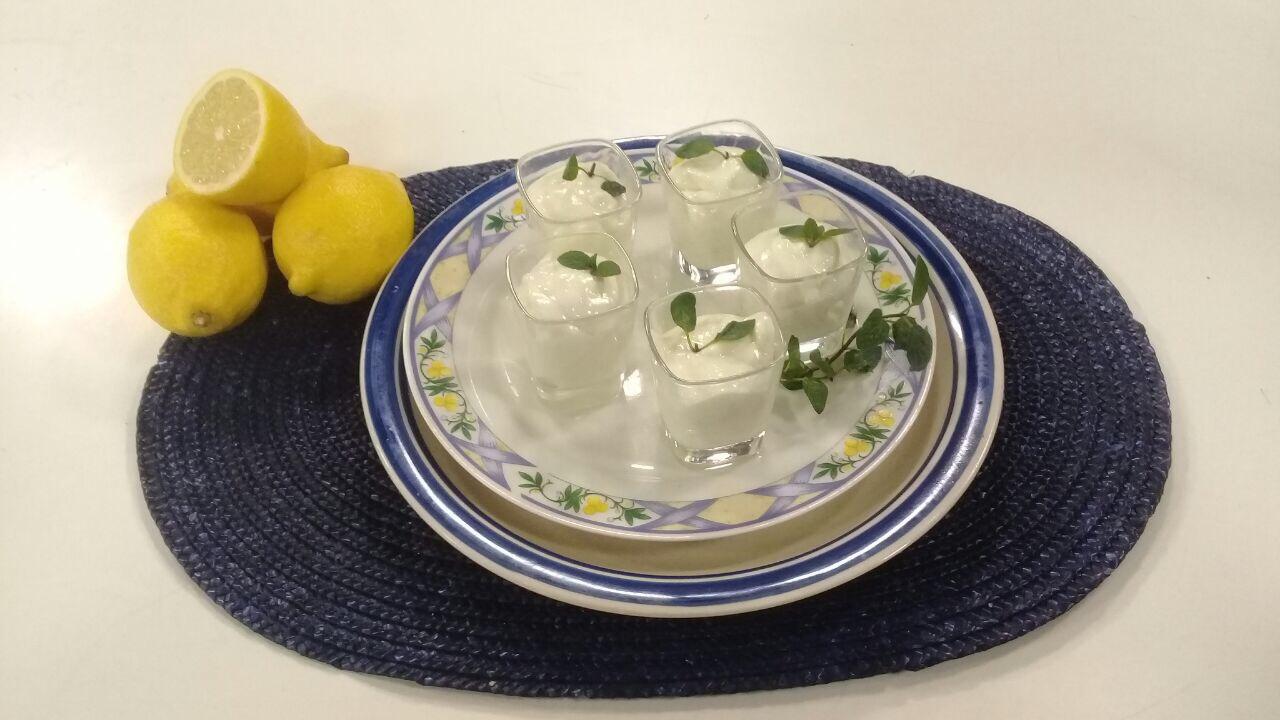 Mousse de limón express
