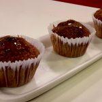 Muffins de manzana deliciosos
