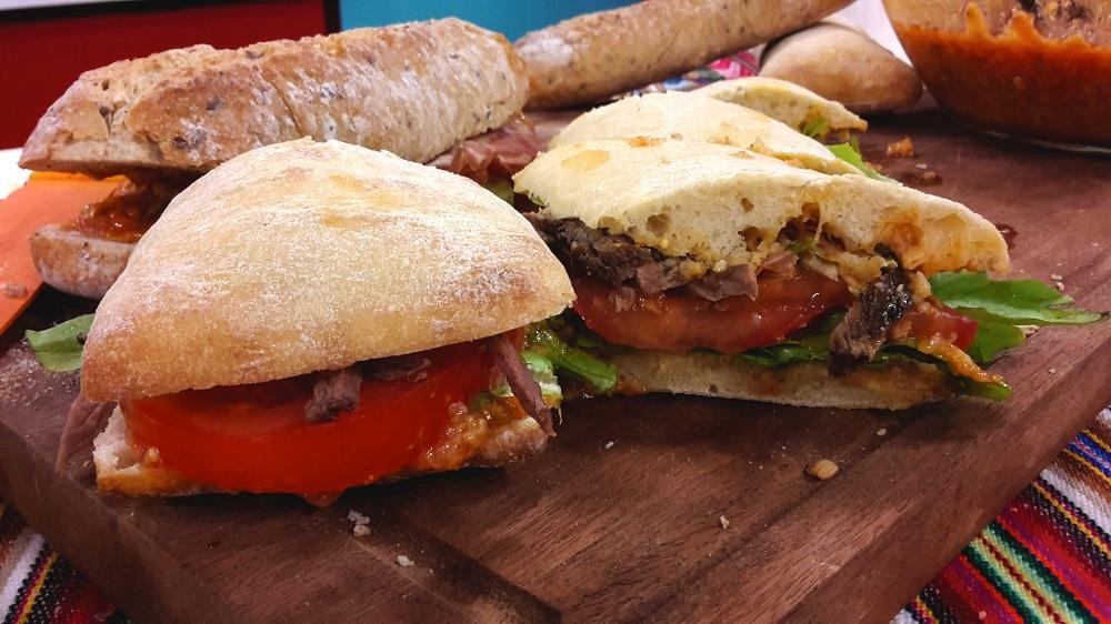Receta agridulce para preparaciones de sandwiches o ensaladas