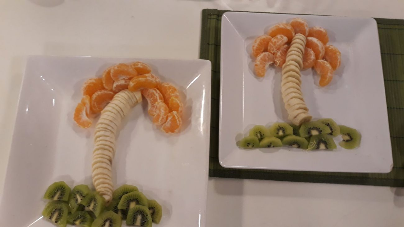 Palmeras de banana