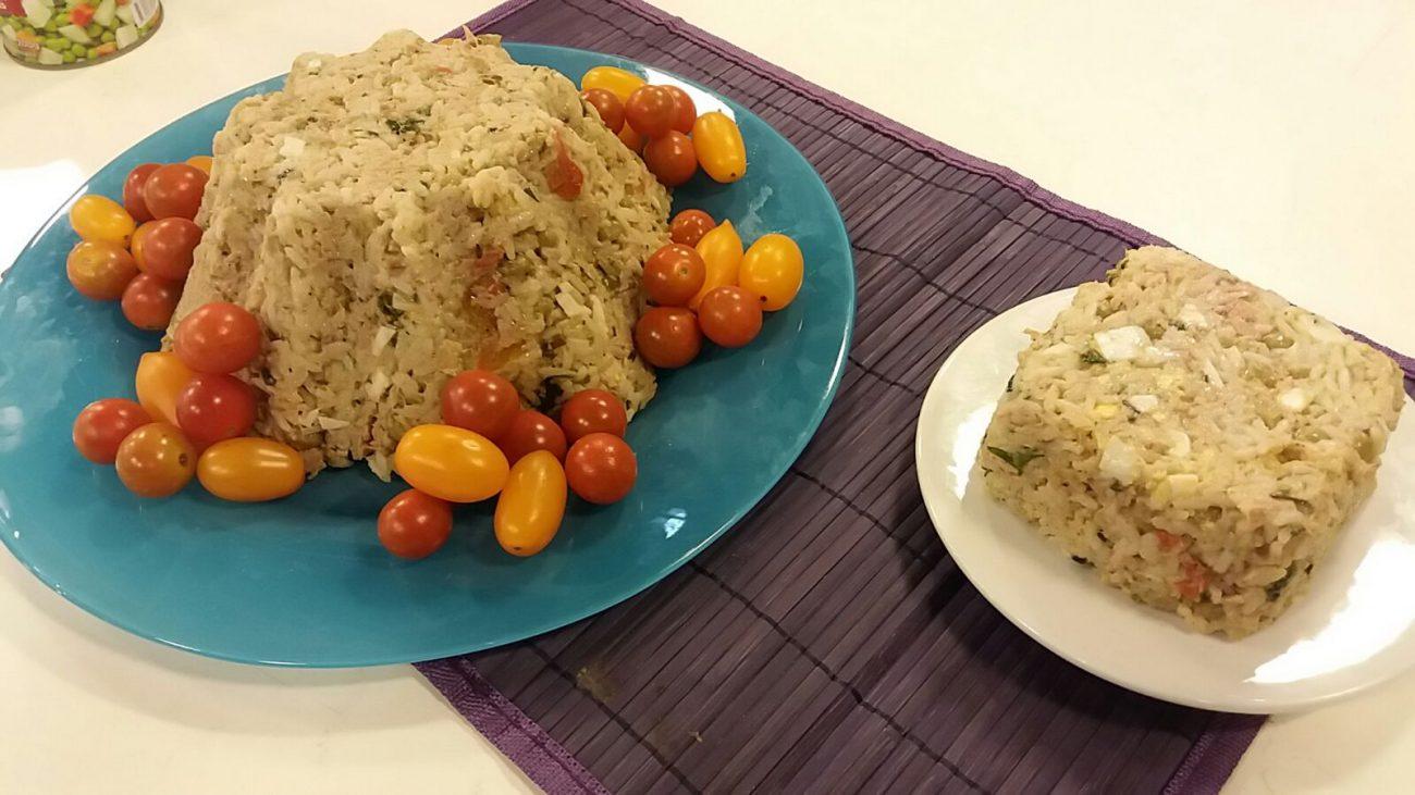 Aro delicioso de arroz