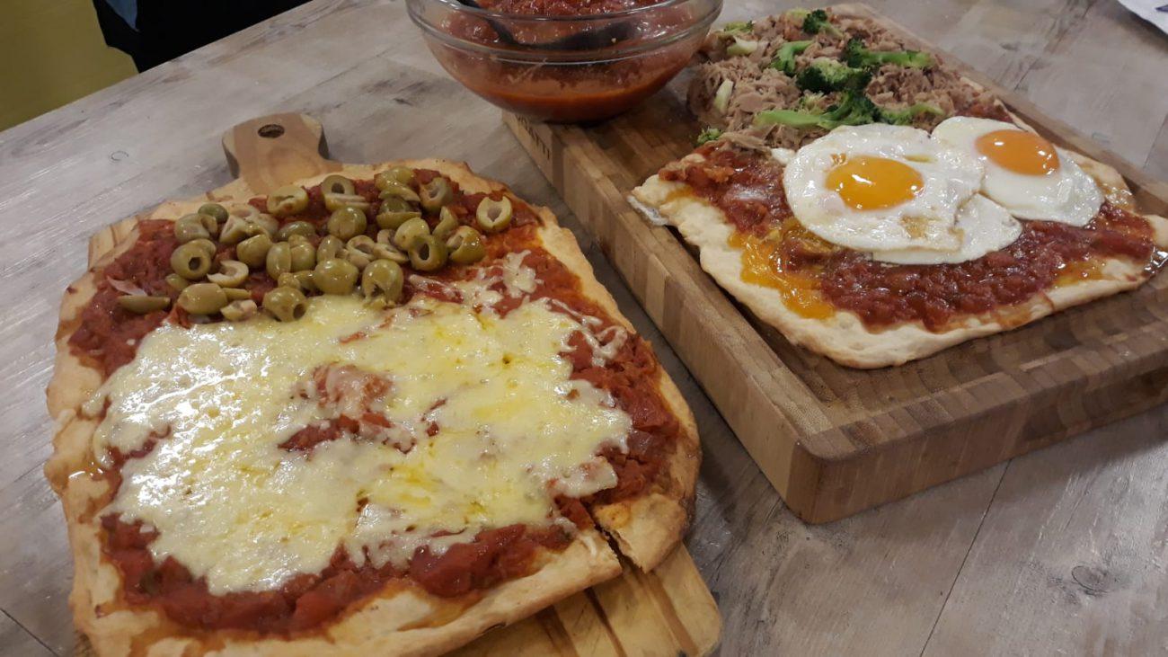 Salsa de tomate pizzera