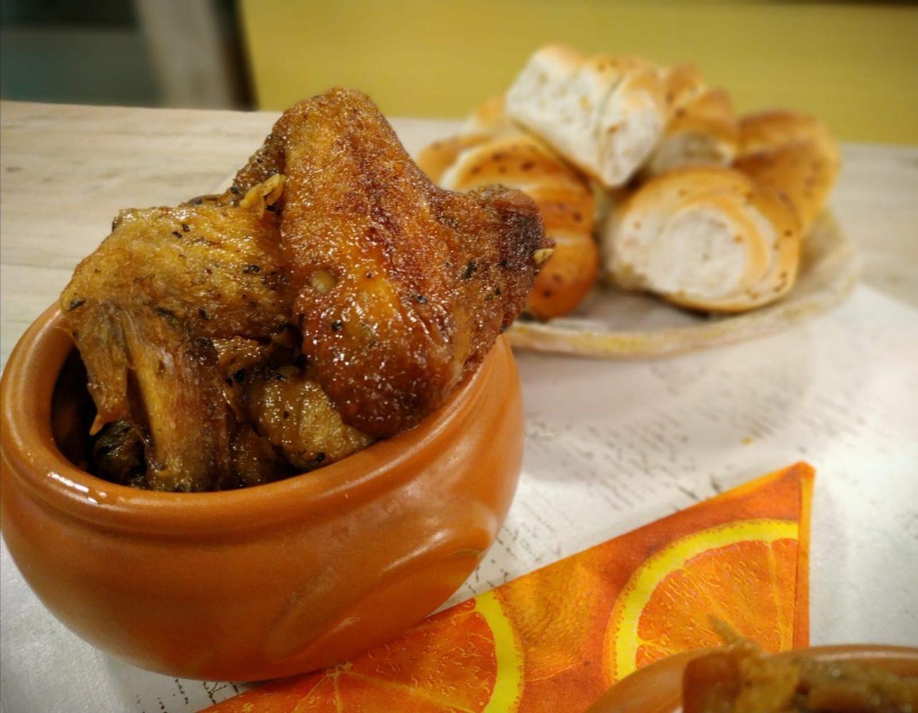 Alitas de pollo deliciosas