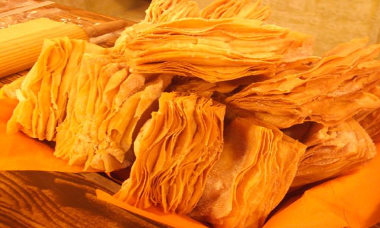 Pasteles hojaldrados de dulce de membrillo LOS NIETITOS