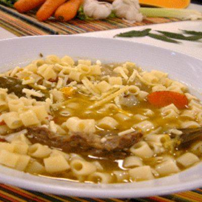sopa-fideos-carne