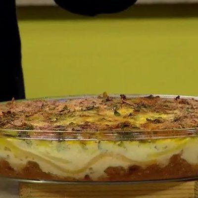 Ana pastel fetuccini