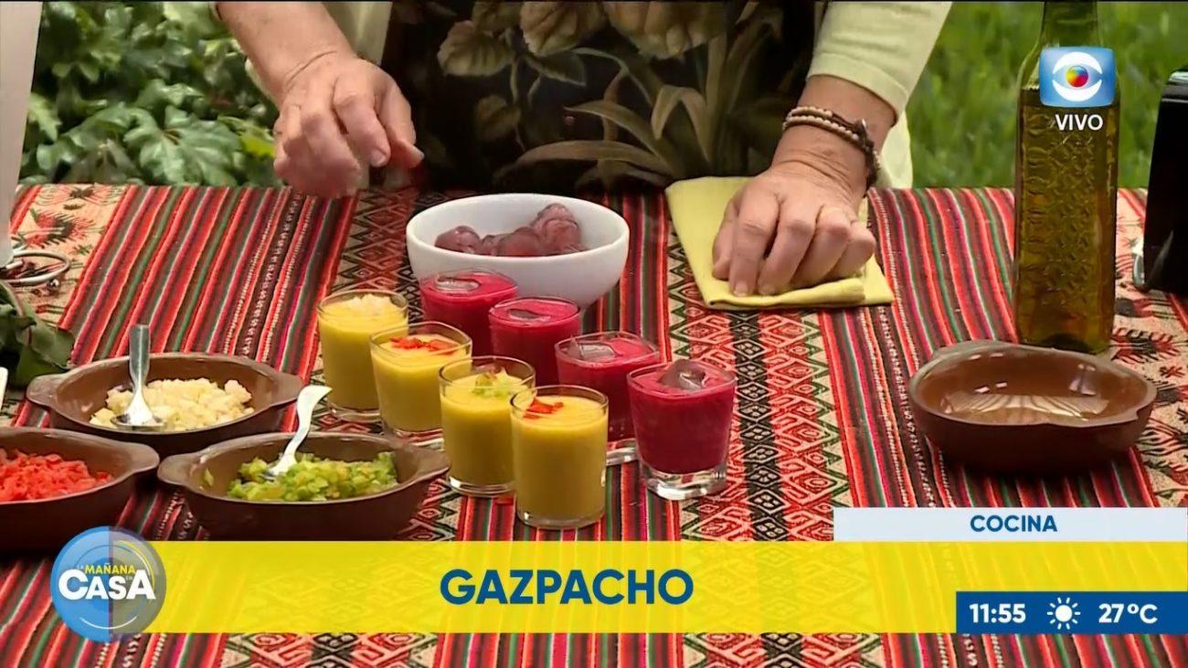 Dúo de gazpachos: Melón y Remolacha